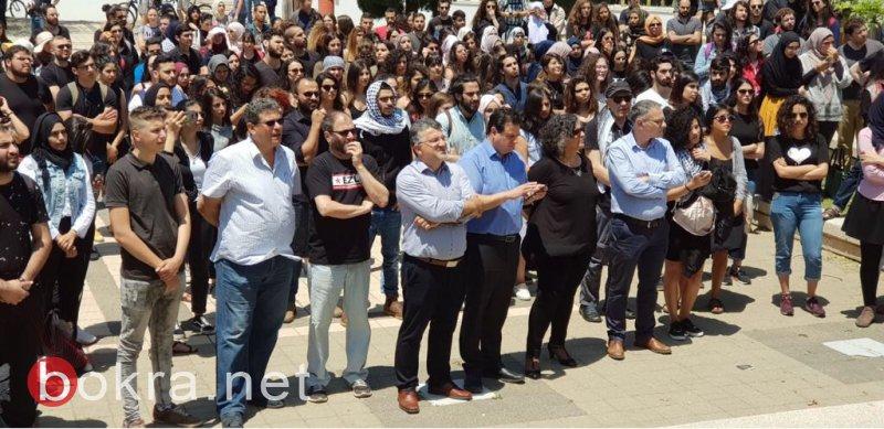جامعة تل أبيب: الطلاب العرب يحيون ذكرى النكبة