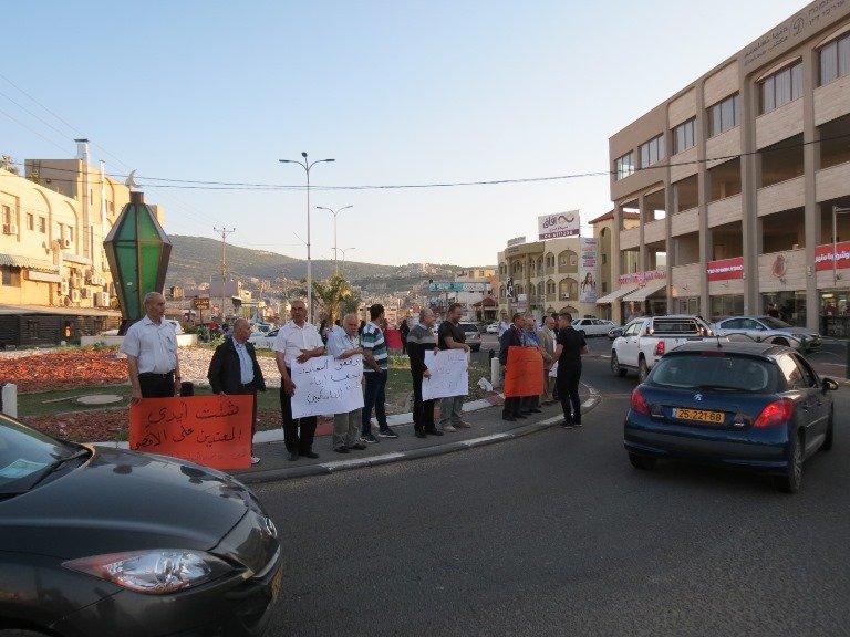 عرابة: الجبهة الديمقراطية والحزب الشيوعي ينظمون وقفة تضامنية مع الشعب الفلسطيني