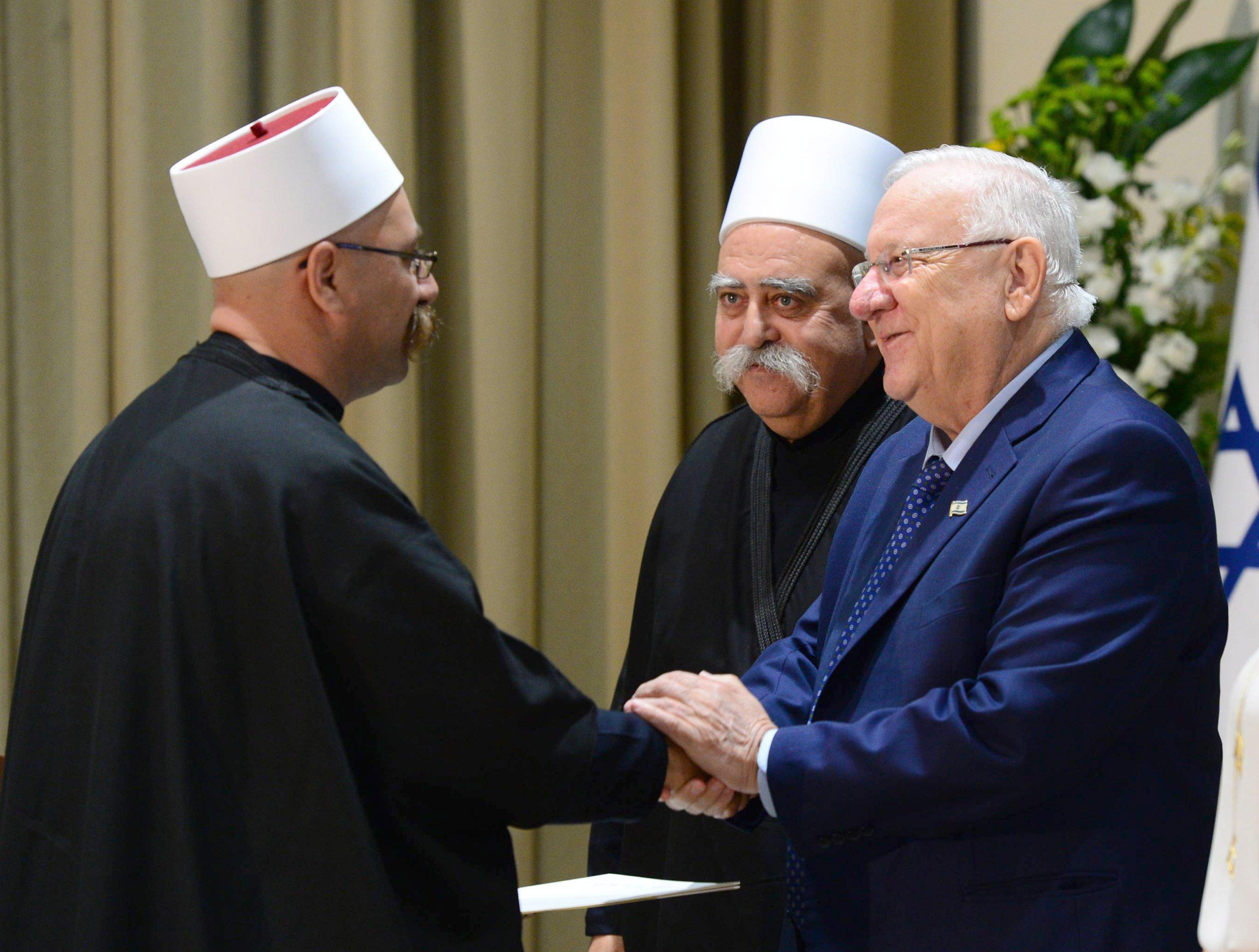 ريفلين يتحدث اليوم خلال احتفال تعيين قضاة المذهب للمحاكم الدينية الدرزية