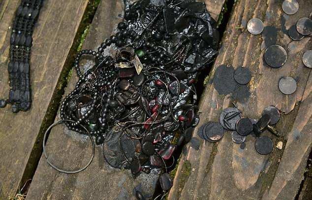 عثر على خزنة مجوهرات في أول رحلة صيد