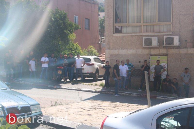 الشرطة تقتحم أم الفحم وتبدأ بحملة اعتقالات وإغلاق طرق!