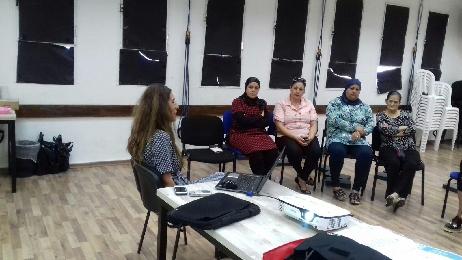 حيفا: ورشة عمل حول مشروع خارطة الطريق في حي الحليصة
