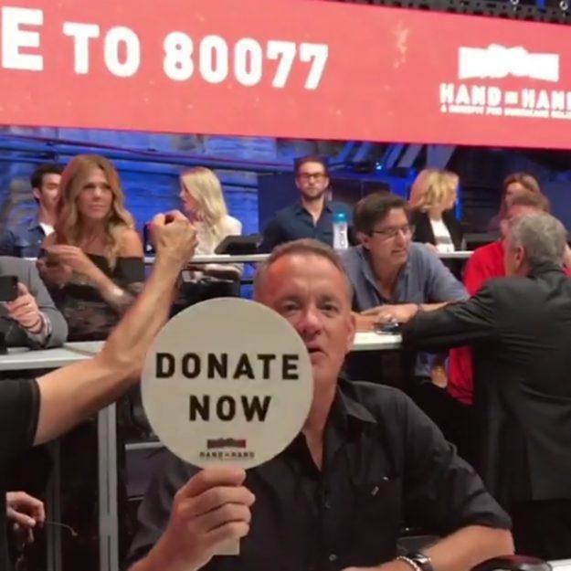 نجوم هوليوود يطلقون حملة دعم لضحايا