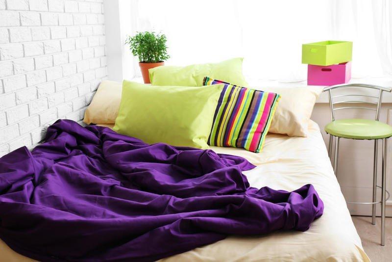 الألوان في ديكور غرف النوم