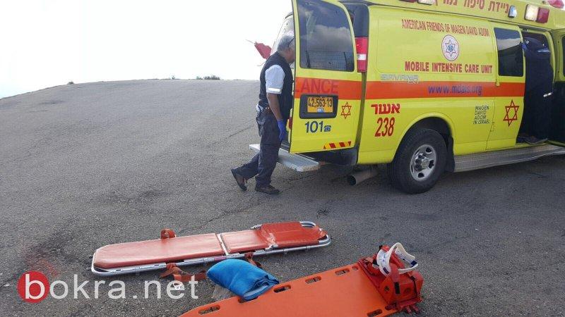 إصابة خطيرة لعامل في بيت جن