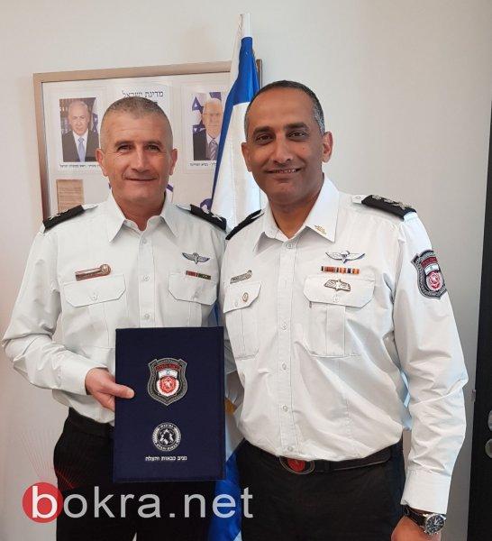 ترقية نزار فارس لرتبة بريغادير جنرال ليصبح قائد المنطقه الشماليه لسلطة الاطفاء والانقاذ