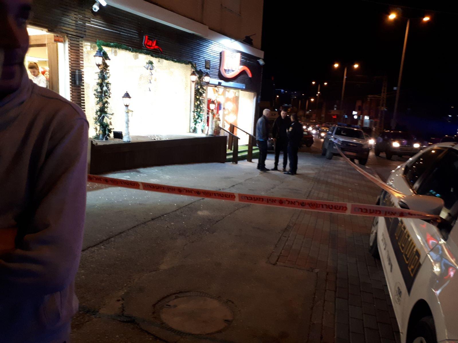 شفاعمرو: اطلاق وابل من الرصاص على محل للملابس