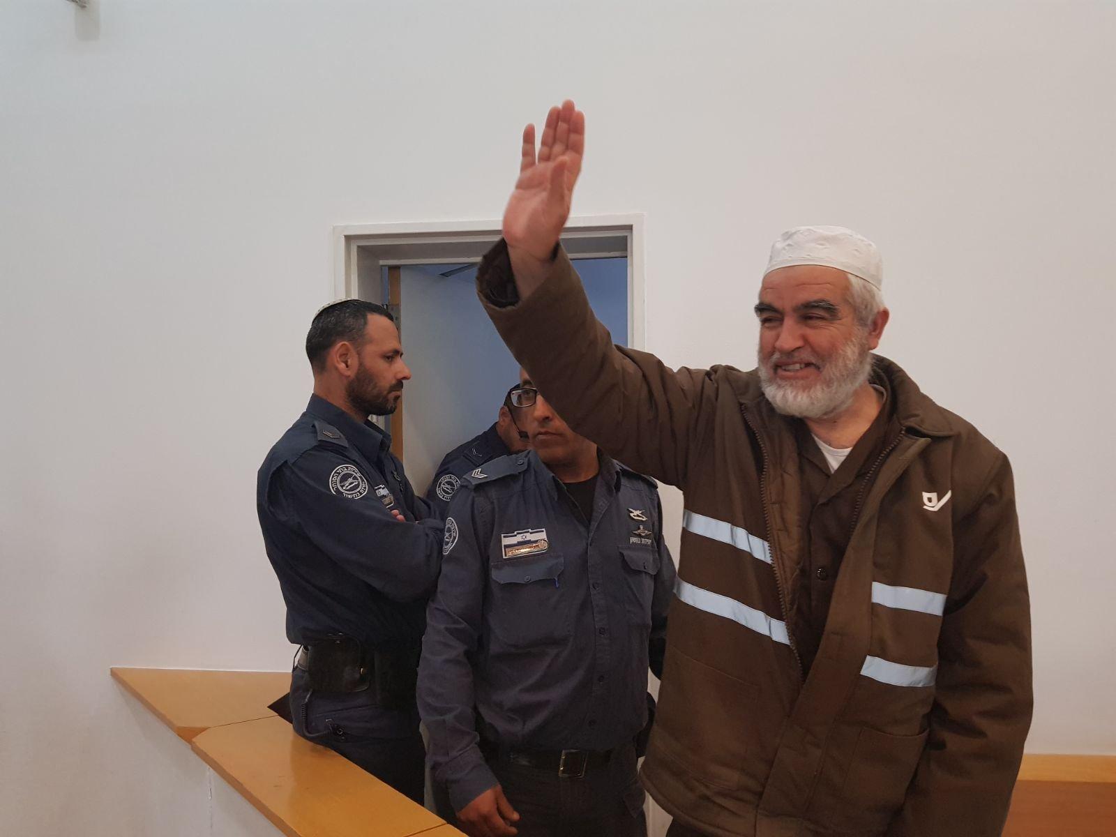 تمديد عزل الشيخ رائد صلاح لـ6 أشهر إضافية