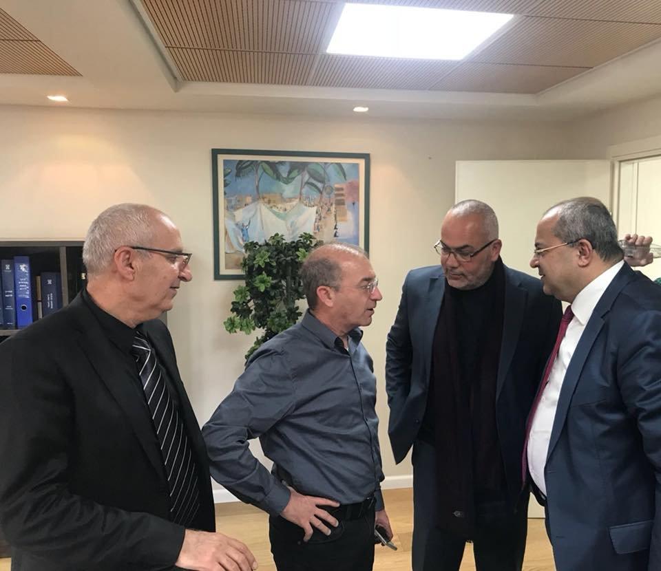 تفاهمات هامة في اجتماع الطيبي والسعدي ويونس مع مدير مؤسسة التأمين الوطني