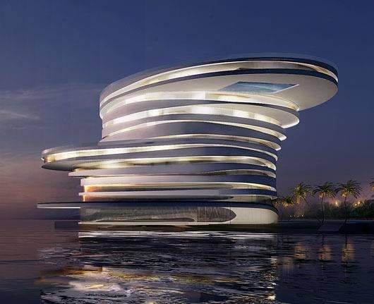 تعرفوا على الفندق الحلزوني الأغرب في أبو ظبي