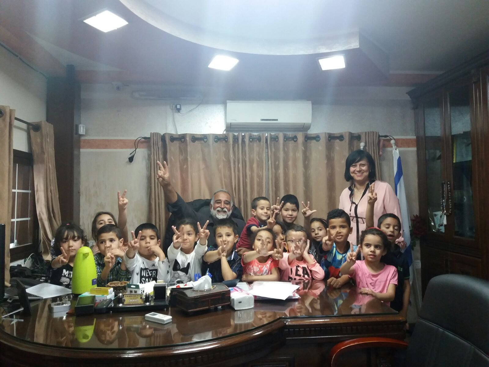 الناصرة: أطفال بستان ابن عامر يتعرفون على مهنة الميكانيكي ويزرون كراج صالح شهوان