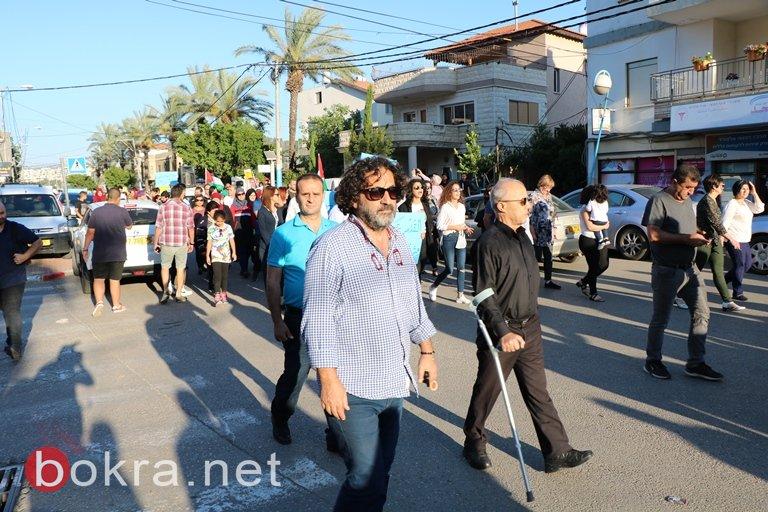 المئات شاركوا بالمظاهرة القطرية في مجد الكروم: لسنا هواة مظاهرات ولكن لا نسكت على قتل شعبنا