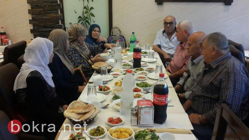 جمعية الجيل الذهبي في باقة الغربية تنظم إفطار جماعي بمشاركة رئيس البلدية