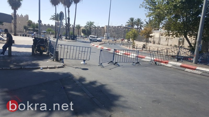 القدس: لليوم الثاني على التوالي حصار مشدد واغلاق الاقصى