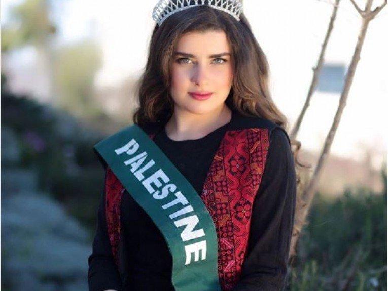 ملكة جمال فلسطين تشعل موقع انستغرام بجمالها!