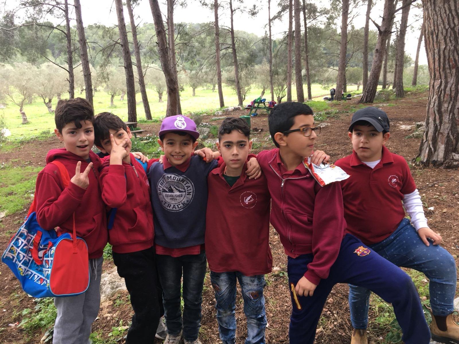 الابتدائيّة جولس ب تحتفل مع جمعيّة حماية الطّبيعة بعيد غرس الأشجار في حرش أحيهود