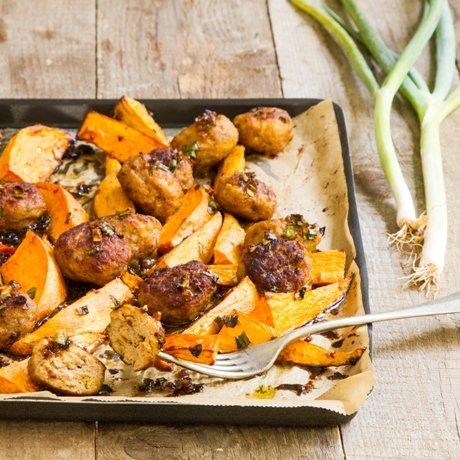وصفة للأطفال: كرات لحم الحبش مع البطاطا في الفرن