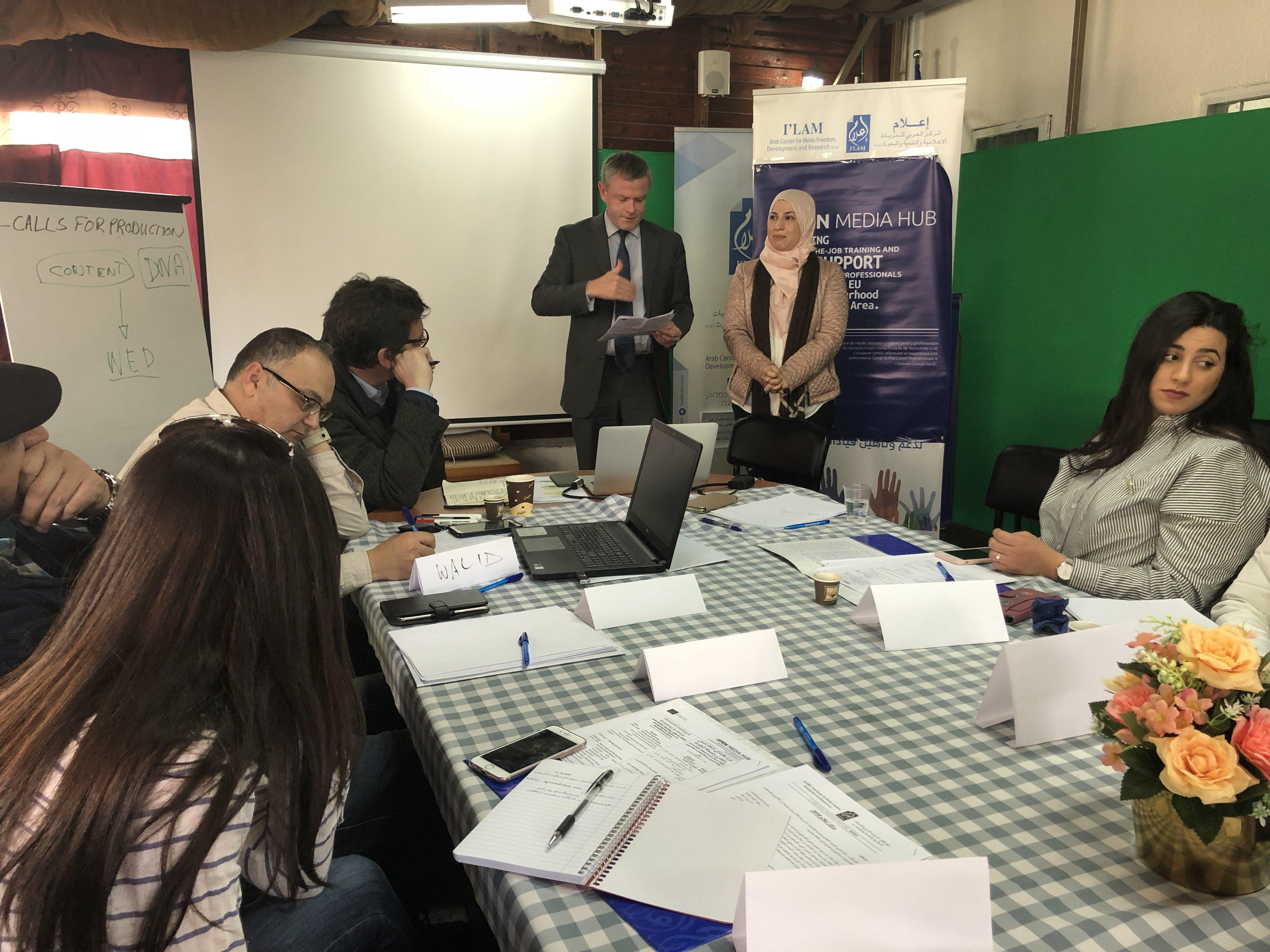 الناصرة: افتتاح دورة في الاعلام السمعي والبصري بمكاتب اعلام