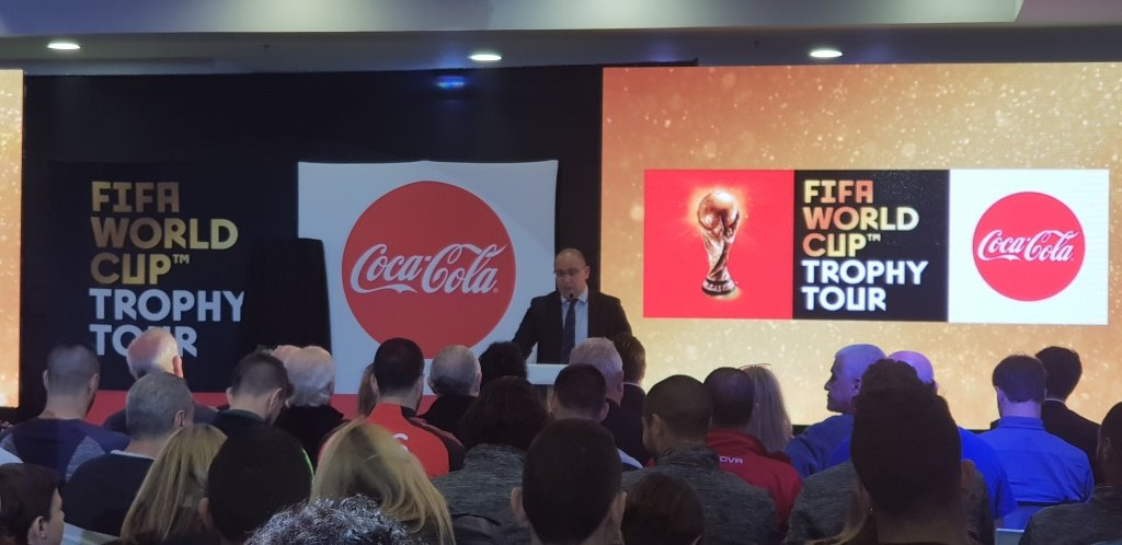 كوكا كولا تعلن: كأس العالم وصلت إلى البلاد