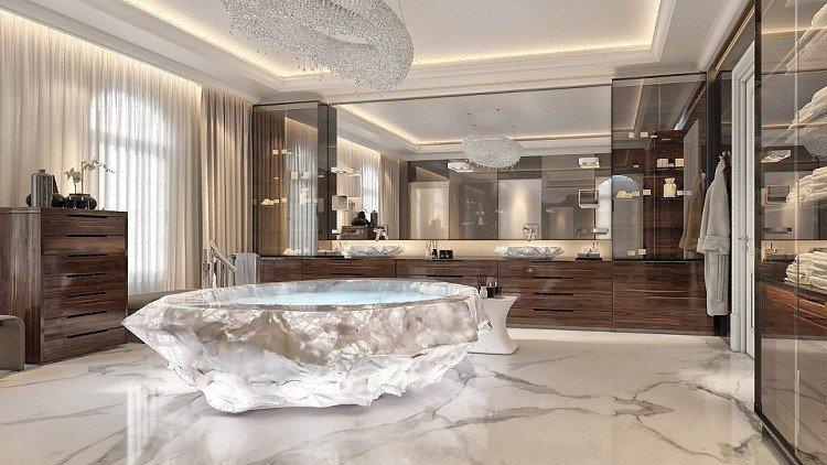 دبي تقدم أغلى حوض استحمام في العالم بمليون دولار