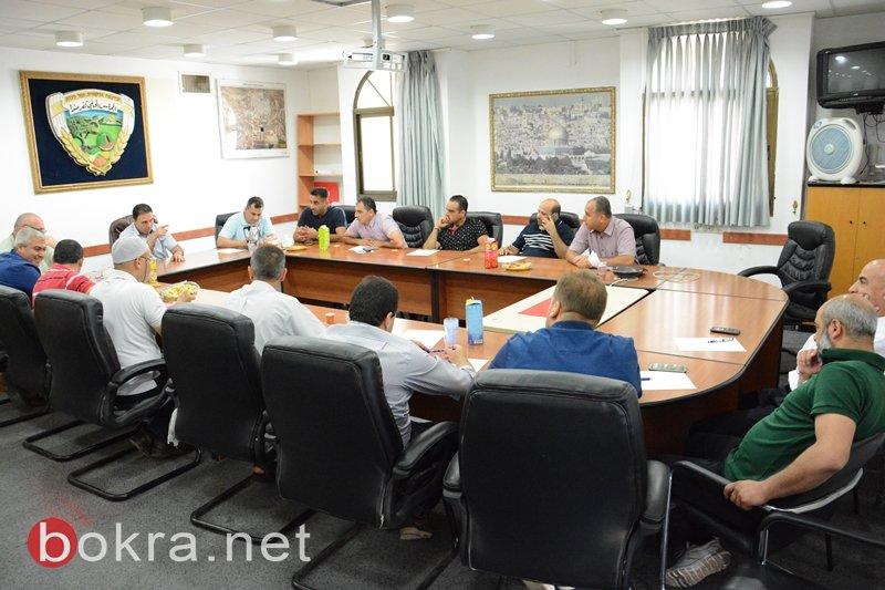 مجلس كفرمندا يستدعي منتدى المهندسين لمناقشة الخارطة الشمولية 2040