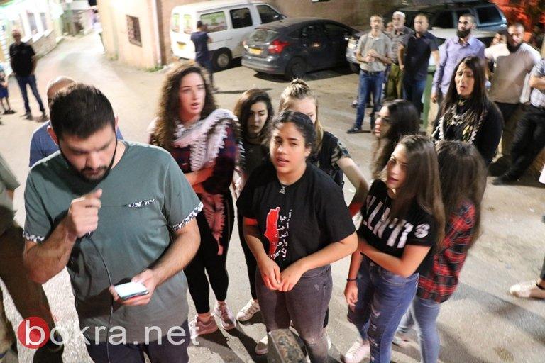 عرابة : مشاركة واسعة من أهالي البلدية في مسرة الغضب دعما لغزة الصمود