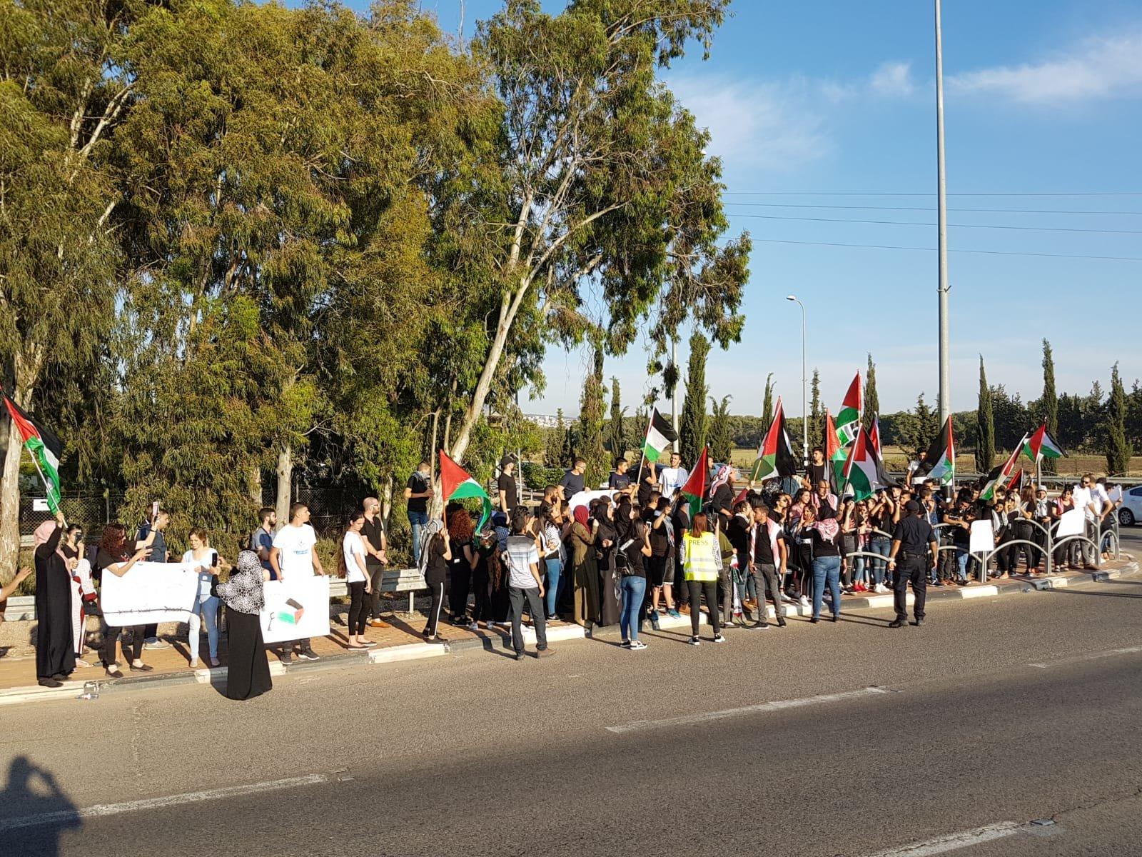 مفترق كابول: مظاهرة منددة بالمجازر ضد غزة