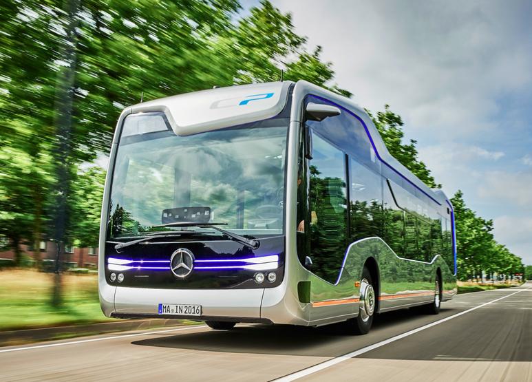 مرسيدس تطلق حافلة المستقبل بتصميم مثير للدهشة