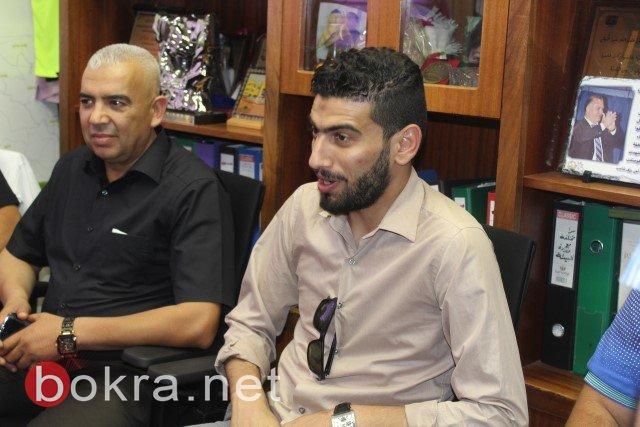 بلدية الناصرة تستقبل الفنان التونسي قدور باشا لاحياء اخر ليلة من ليالي رمضان