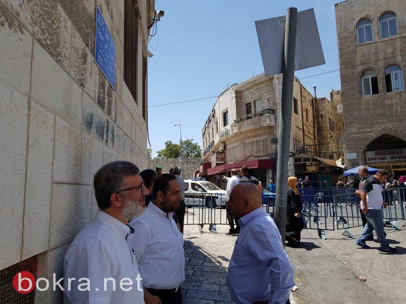 إسرائيل تفتح أبواب المسجد الأقصى وتضع آلات كشف .. ومندوبو الوقف يرفضون تفتيشهم