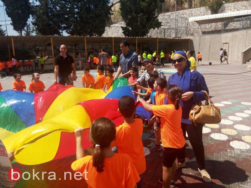 اتحاد لجان اولياء امور الطلاب في الناصره يتفقد مخيمات المدارس الصيفية