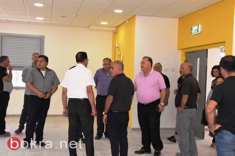الناصرة:سلام يتفقد مشروع المدرسة الشاملة على اسم الدكتور المرحوم خالد سليمان قُبيل افتتاحها