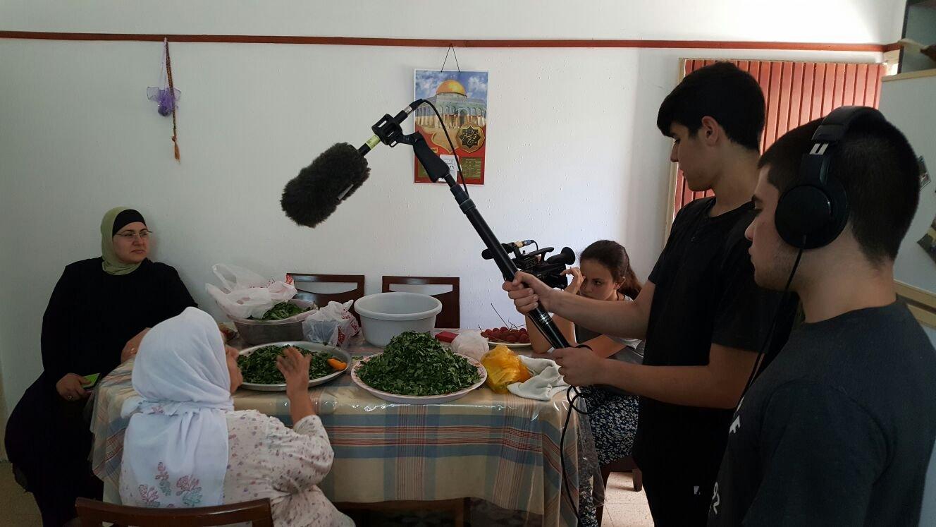 ورشة سينمائيّة في كليّة الفنون همدراشا تضم طلاب مدارس عرب ويهود