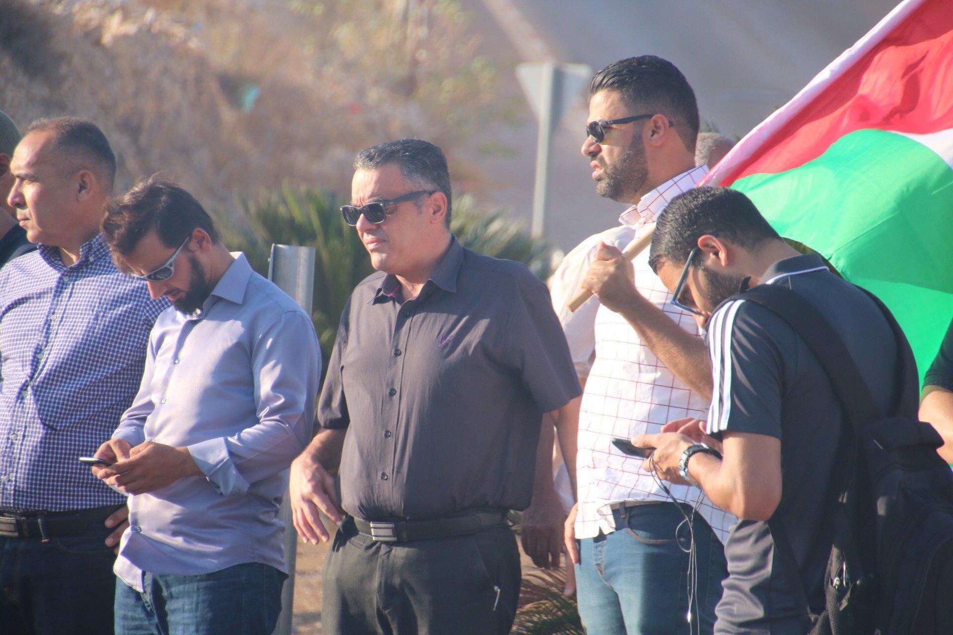 وادي عارة في تظاهرة دعما للشيخ رائد صلاح