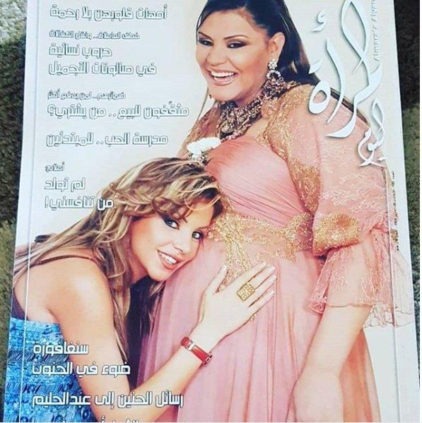 هل تقصدت رزان مغربي إحراج أحلام بعد نشرها صورة تعود لعام 2004 ؟