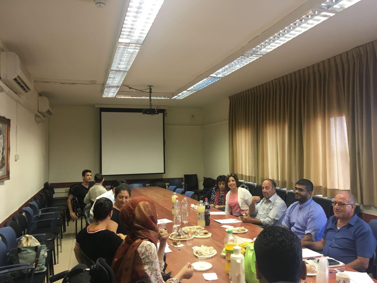 كتلة الجبهة في الهستدروت تنظم لقاءً مع هيئة منظمات نضال اصحاب الاعاقات