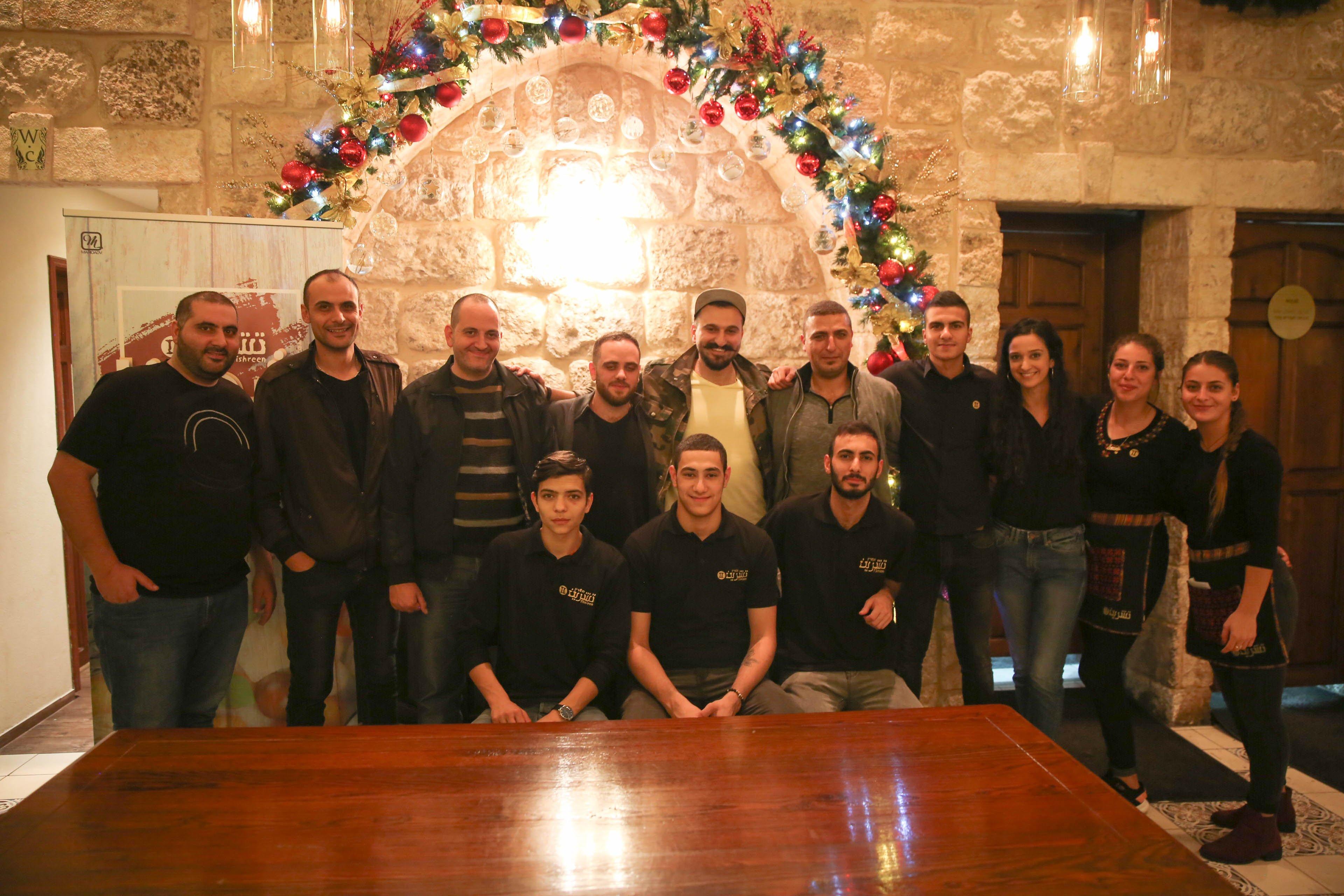 جمعية الناصرة تستقبل فرقة الانس والجام قبيل احياء عرضها الغنائي