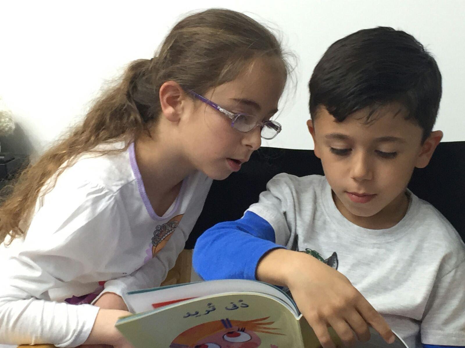 مشروع مكتبة الفانوس يتوسّع ليشمل الصّفّين، الأوّل والثّاني