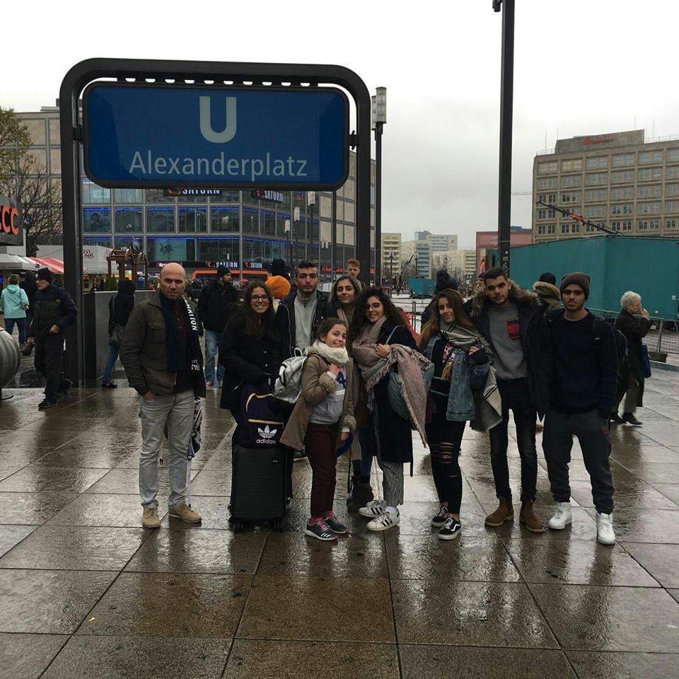 المدرسة الإيطالية- حيفا تتألق في مشروع أهل الأرض في ألمانيا