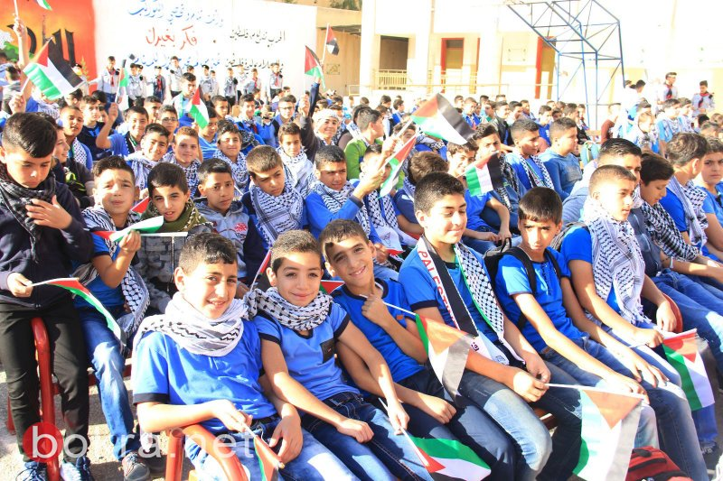 التربية الفلسطينية تحيي يوم الكوفية في مدارسها بفعاليات داخل الوطن وخارجه