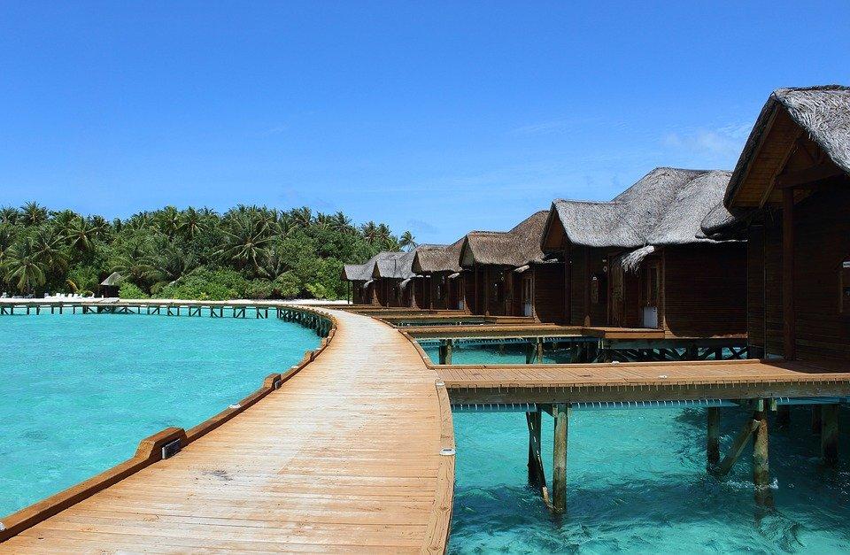 شهر العسل في المالديف