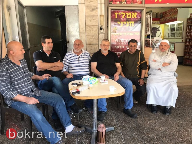 الحاج عدنان سلام يزور نادر الحنيني للتأكيد على ان الشائعات لن تعكر صفو العلاقة بينهما
