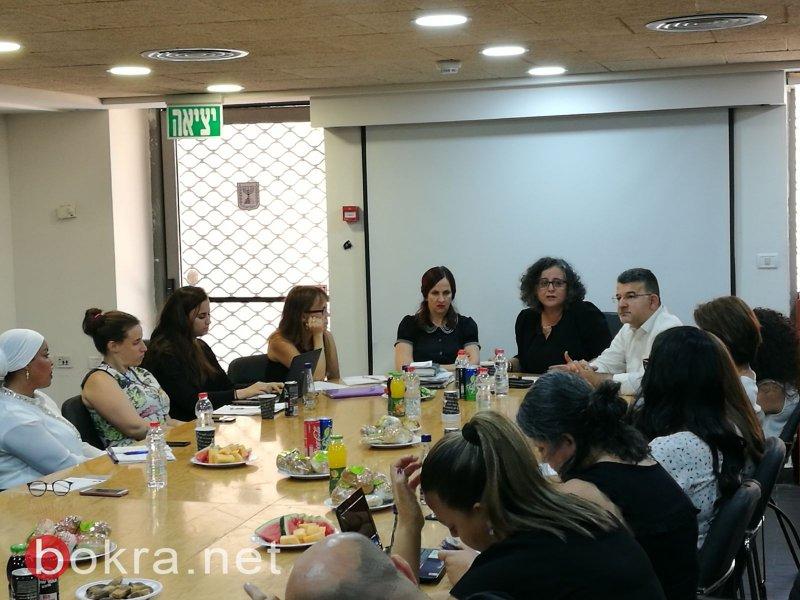 توما-سليمان وجبارين:جلسة مع نائبة المستشار القضائي حول اقصاء النساء من الحيز العام في الوسط العربي