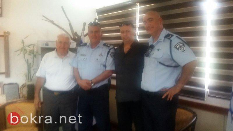 اجتماع هام في مجلس الشبلي مع قيادة الشرطة في منطقة المروج