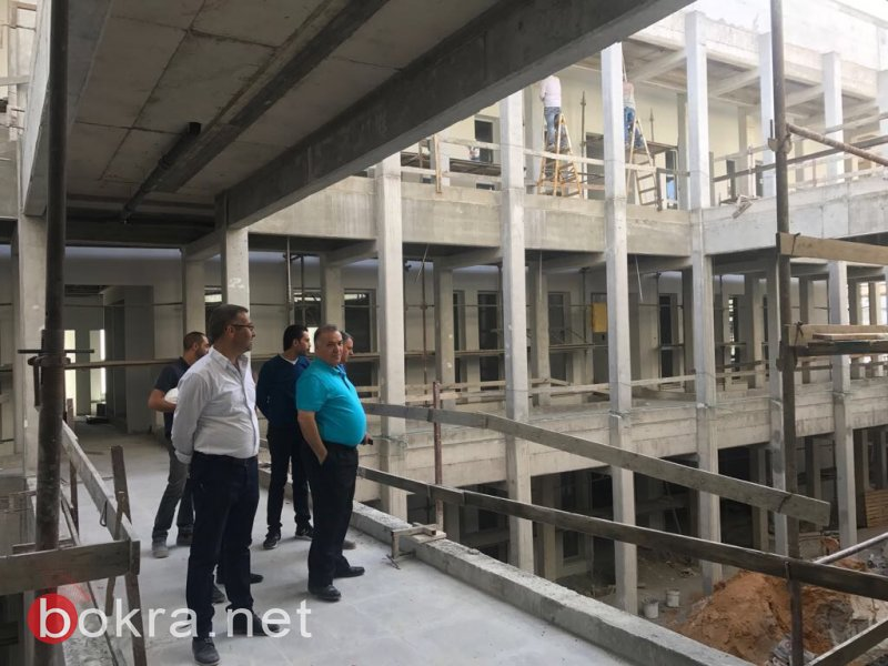 الحلم النصراوي، مبنى البلدية الجديد ..  قاب قوسين أو أدنى