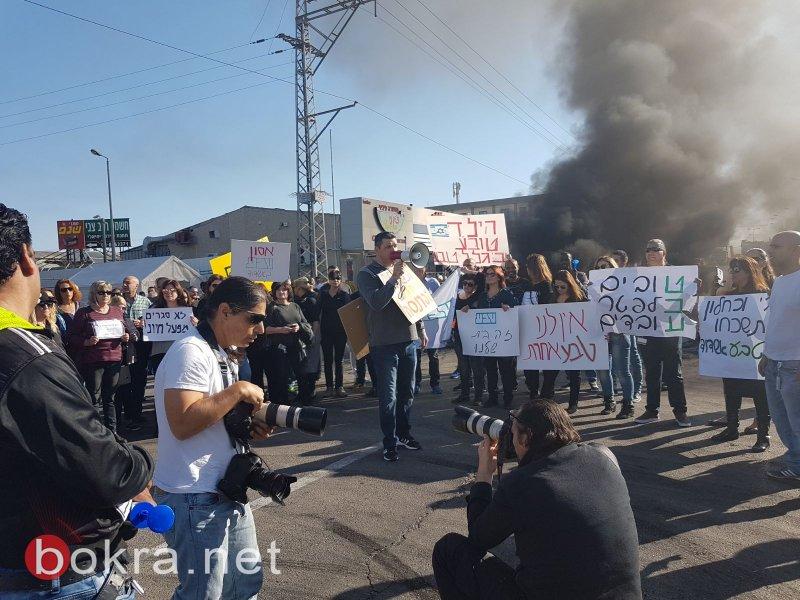 مظاهرات وإغلاق شوارع وإضراب في كل أنحاء البلاد بسبب أزمة طيفع