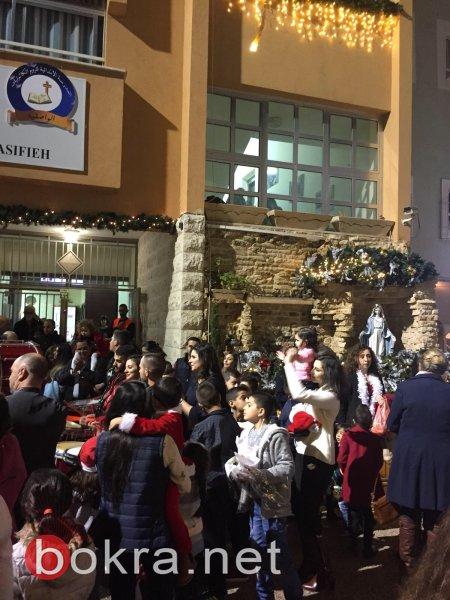 يوم الميلاد المــُتلألِئ في مدرسة الواصفيّة في النّاصرة