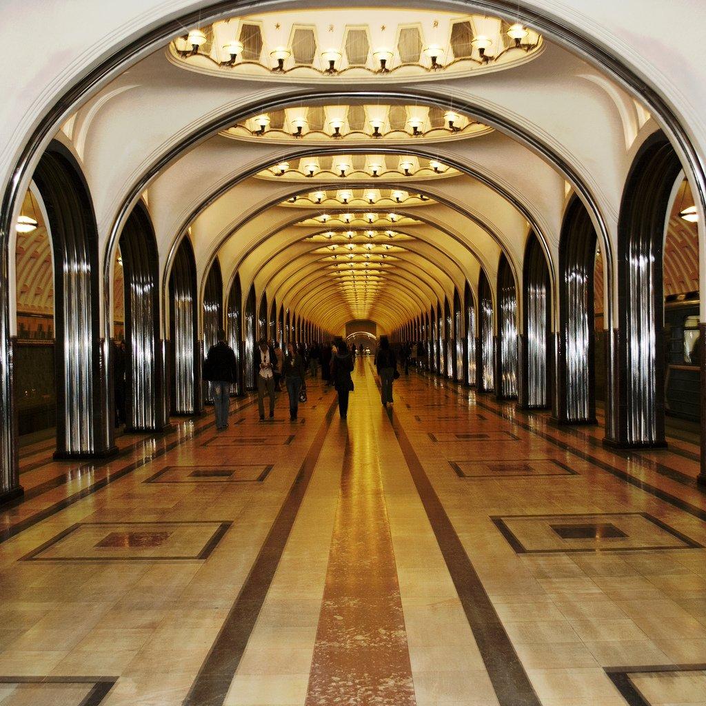 مترو موسكو في سجل الإرث الثقافي