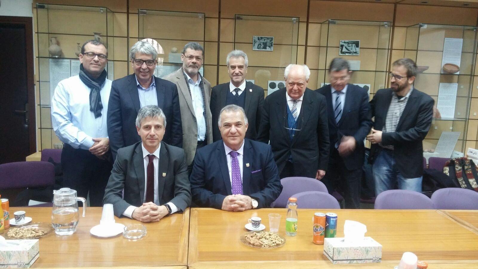 وفد ايطالي رفيع المستوى  يزور بلدية الناصرة
