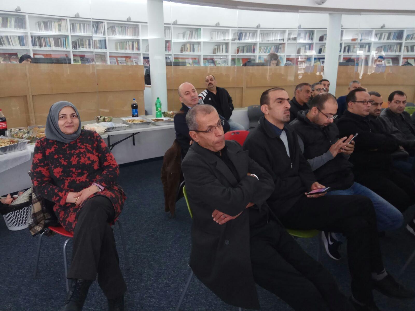 المكتبة العامة في ام الفحم تستضيف يوما دراسيا للجنة أولياء أمور الطلاب المحلية